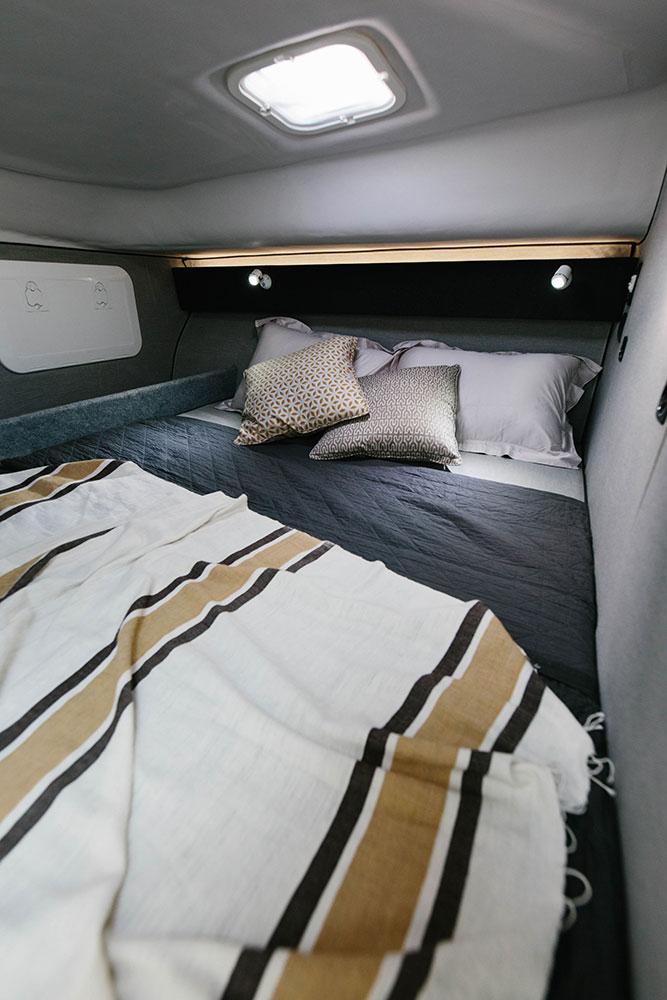 Double bedroom, Shockwave Marine Breaksea Series. Photo Rae Fallon