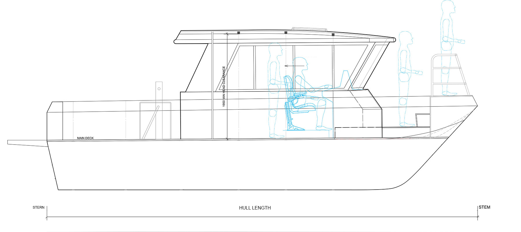Boat plan for the Reliance series