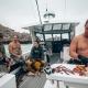 Fishing off the Shockwave Catamaran
