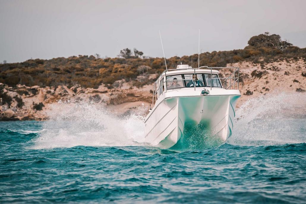 Shockwave Marine power catamaran