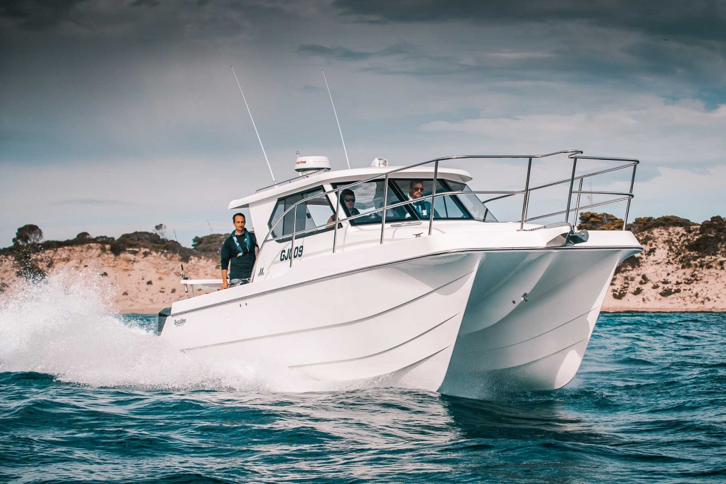Shockwave Marine catamaran