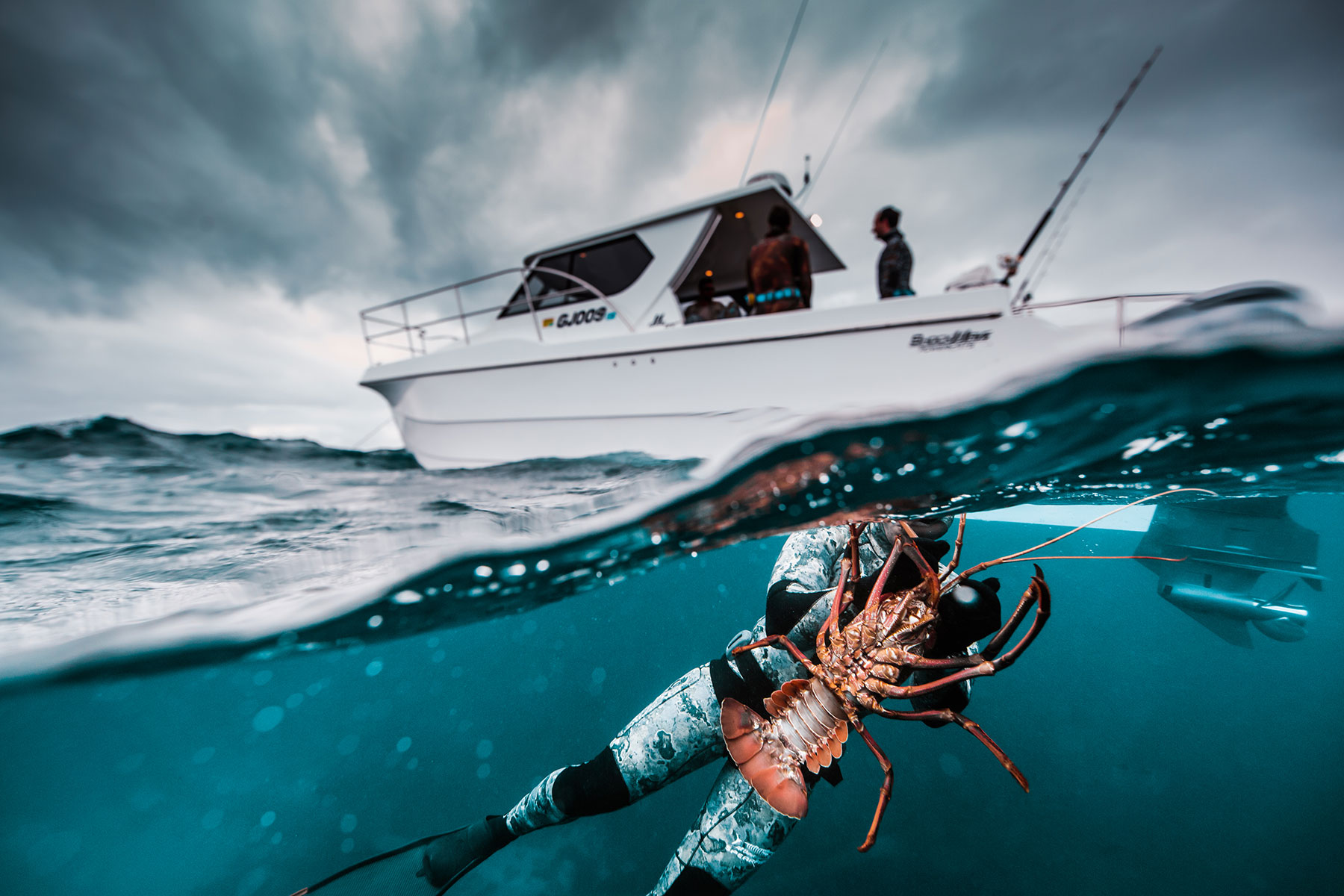 Lobster fishing in Western Australia